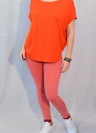2196\40 морковная футболка f&f xl