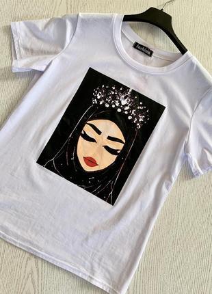 Хлопковая футболка1 фото