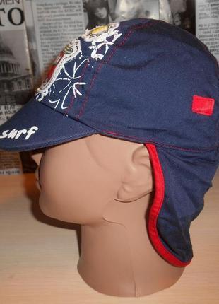 Панамка, кепка панамка от солнца защитная ladybird 12 мес, хлопок, оригинал