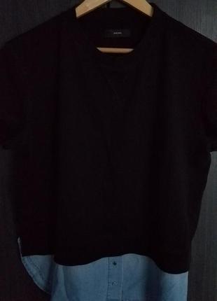 Комбинорованная футболка