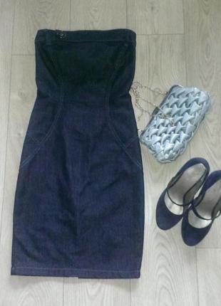Платья джинсовые
