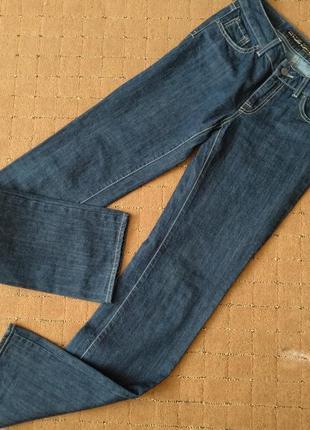 Темно синие джинсы средняя  посадка killer loop италия