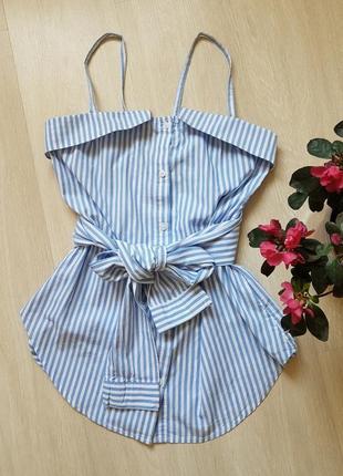 Летняя блуза cropp