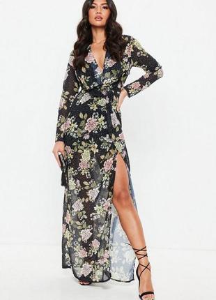Нереально стильное макси платье