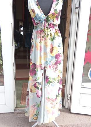 Лёгкий летний сарафан платье макси