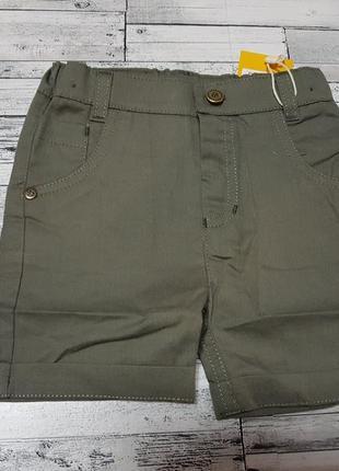 Стильные шорты бемби р.80-98