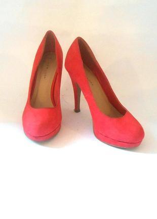 Яркие фирменные туфли new look, р.37 код t3763
