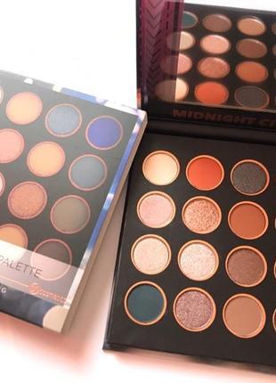 Bh cosmetics midnight city 16 color shadow palette палетка тіней