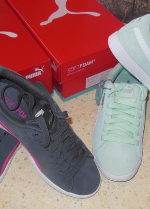 Кроссовки puma vikky jr sneakers (разные цвета), р.37, 38, 39.