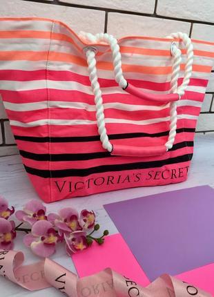 Сумка сумочка пляжная шоппер шопер виктория сикрет оригинал