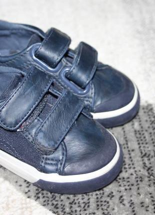 Синие туфли мокасины next размер 3 на 19
