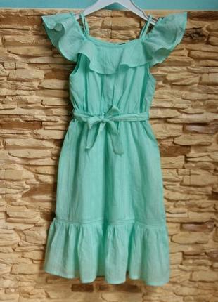 Платье-макси/сарафан kiabi (франция) на 3-4 годика (размер 98-107)