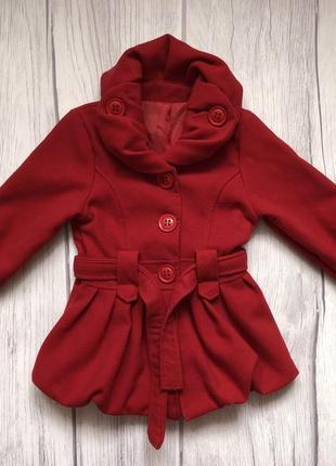 Пальто для девочки 🌸