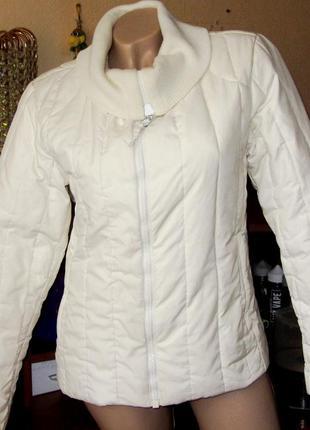 Демисезонная куртка пуховик на тёплую зиму или холодное межсезонье