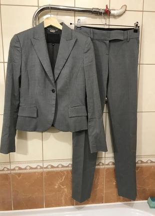 Стильный костюм брюки пиджак блуза жакет штаны лосины