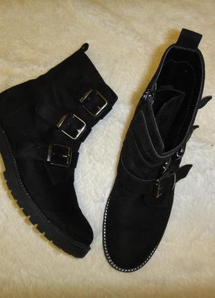 Стильные модные ботинки, ботильоны graceland р. 39