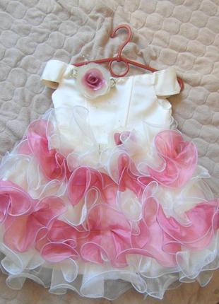 Только для принцесс!! нарядное платье на первый бал,регулируется.