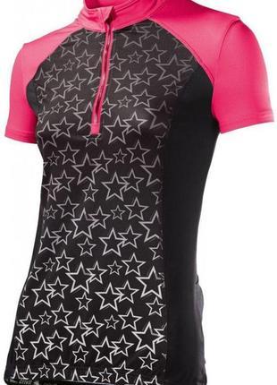 Женская вело футболка. германия. качество.