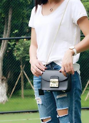 🔥шикарная сумочка в стиле furla, качество на высоте