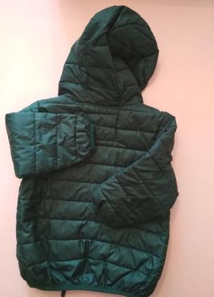 Деми куртка, легкий пуховик унисекс