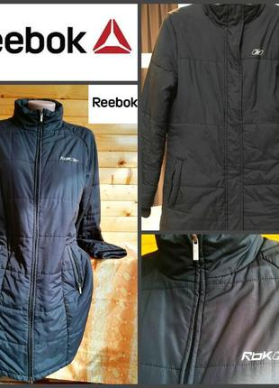 Утепленное женское  пальто осень -зима от reеbok, оригинал, р.l