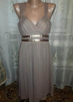 Красивое платье.шифон