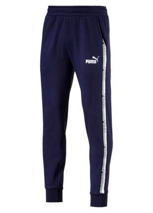 Штани puma tape pants 06 blue