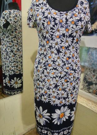Платья ромашки