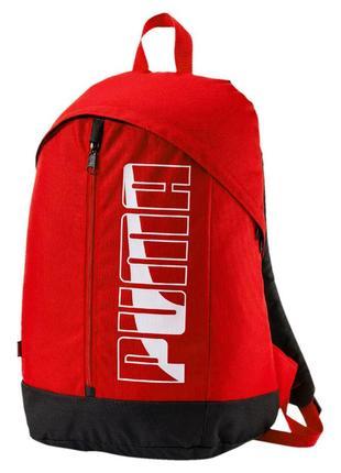 Рюкзак puma pioneer ii 074718 red