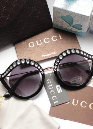 Красивые очки с камнями