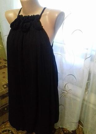 Шикарное вечернее платье шифон