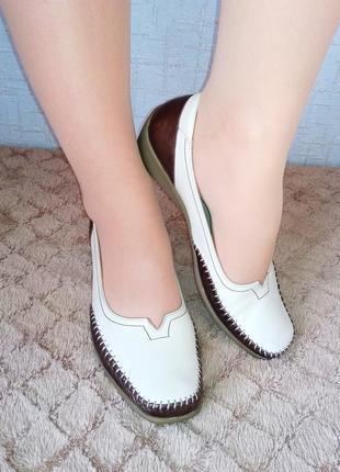 Мокасины аra кожа германия лоферы туфли балетки