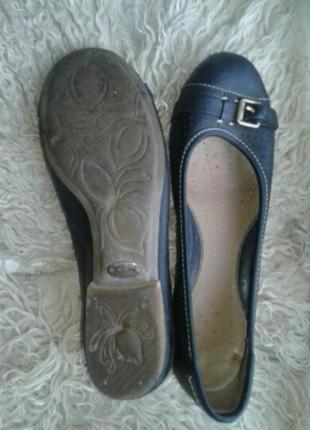 Черные кожаные туфли, 4 / 35- 36р-р.2 фото