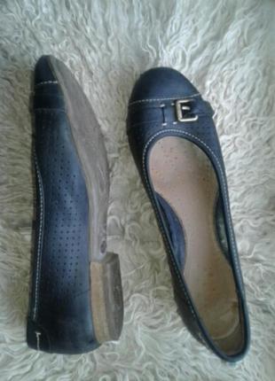 Черные кожаные туфли, 4 / 35- 36р-р.3 фото