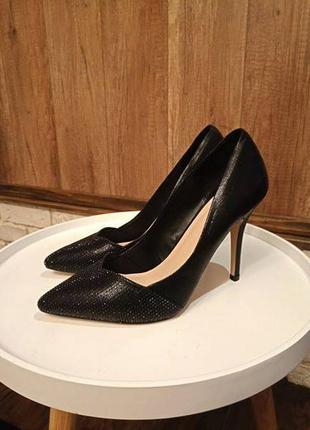 Туфли офигенные алдо тайге на высоком каблуке, 40 размер3 фото
