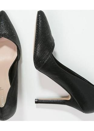Туфли офигенные алдо тайге на высоком каблуке, 40 размер2 фото