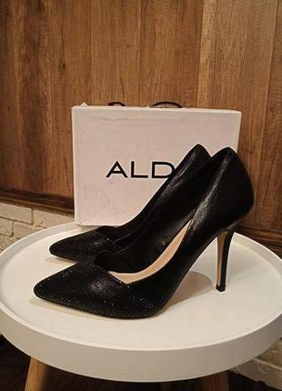Туфли офигенные алдо тайге на высоком каблуке, 40 размер4 фото
