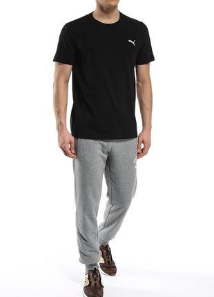 Мужская футболка puma logo tee р. l оригинал