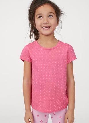 Распродажа! футболка для девочки h&m новинка !