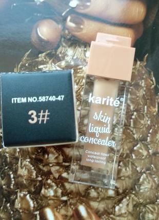 Консилер karite skin liquid concealer тон #3