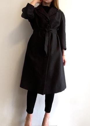 Шерстяное пальто миди тонкое шерстяное пальто швейцария