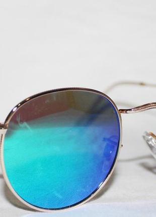 Солнцезащитные очки. очки. очки в стиле ray ban. круглые очки. 3447. зеркальные очки