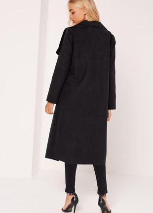 Стильное пальто missguided. хс-с5 фото