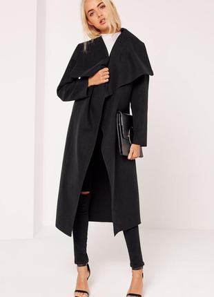 Стильное пальто missguided. хс-с1 фото