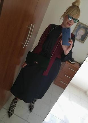 Классическое  стильное платье италия4 фото