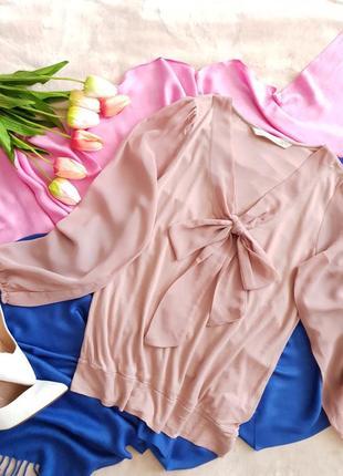 """Актуальная блуза в цвете """"пыльная роза"""""""