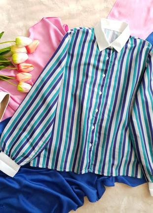 Полосатая блуза...актуальная модель.