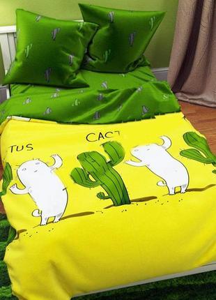 Постельное белье ! кактус и коты