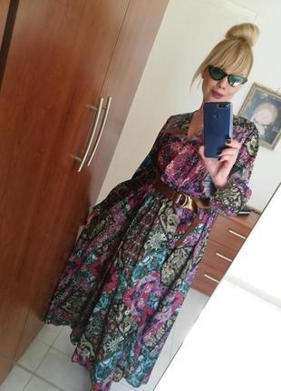 Длинное роскошное платье италия