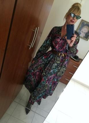 Длинное роскошное платье италия2 фото